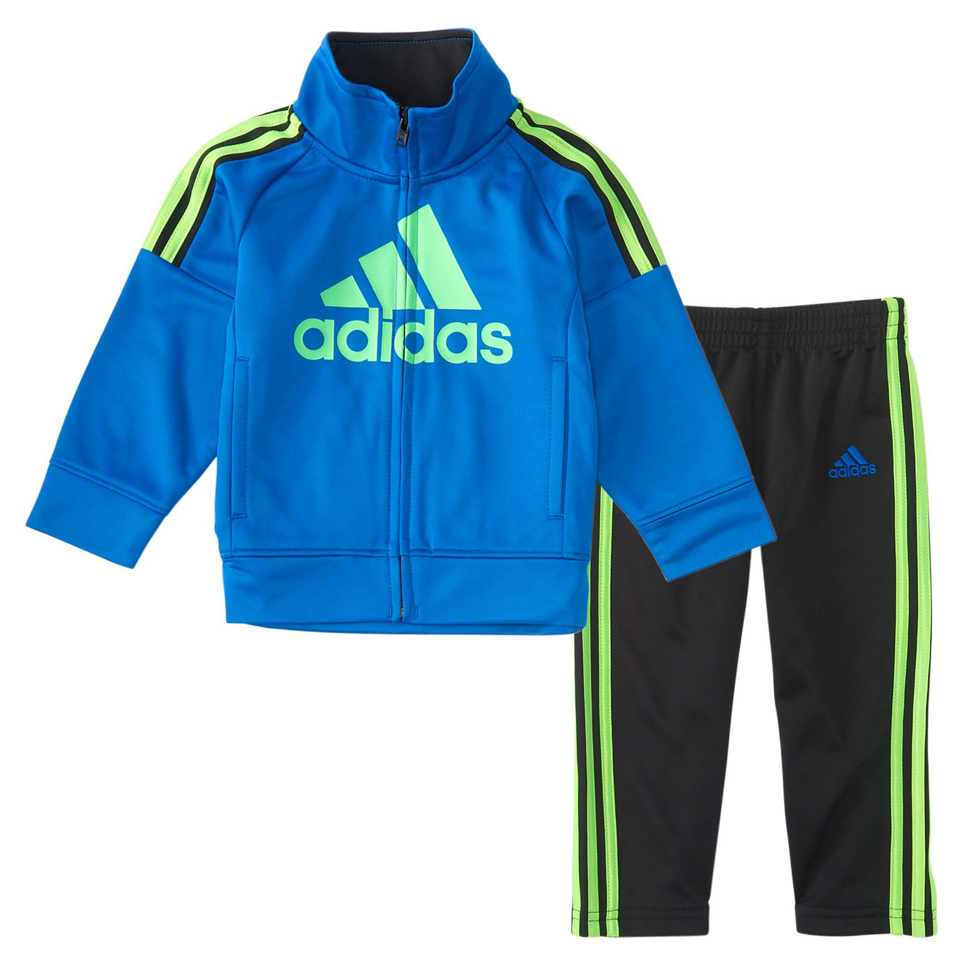 adidas 2-pc. Stripe Pant Set Baby Boys