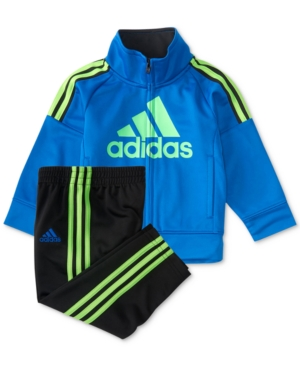 adidas 2-Pc. Jacket & Pants Set, Baby Boys (0-24 months)
